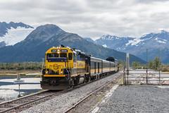 The Wye Move (sullivan1985) Tags: trip alaska ak september thefinalfrontier passengertrain 2015 emd gp402 electromotive cruisetrain