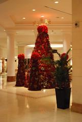 Grand Hyatt Amman - Christmas Tree (jrozwado) Tags: christmas hotel asia amman christmastree lobby jordan hyatt الأردنّ عمّان