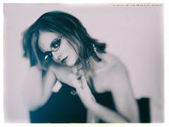heather - 143 (EYEsnap_Photography) Tags: portrait blackandwhite glasses heather blonde eyewear