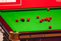 Anglų lietuvių žodynas. Žodis snooker table reiškia snukerio stalo lietuviškai.