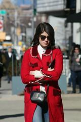 On the streets in NYC during NYFW FW16 (Clara Ungaretti) Tags: street streetlife streetstyle streetwear streetfashion streetphotography style stylish nystyle nyc ny nyfw nyfashion newyork newyorkcity newyorkfashionweek novayork northamerica america states us usa manhattan lowermanhattan urban fashion fashionworld fashionweek fashionlook fashionista fashionphotographer fashionphotography fashionportrait onthestreets look city fw16 fall2016 semanademoda winter coat walking red ysl yvessaintlaurent bag womenswear women woman fashionwoman gal