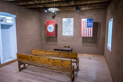 Mockup of Courthouse Interior (Serendigity) Tags: lincoln wildwest usa newmexico unitedstates historic town museum