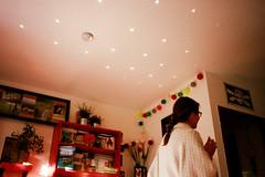 untitled. (emil rocha) Tags: summer interior girl olympusmjui kodakportra400 red maky house light skritek