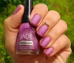 Extravaganza - Jade (Raabh Aquino) Tags: unhas esmalte liquidsand lilac pink lilás nails nailpolish jade