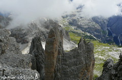 Lavaderoko Hiru Dorreak, Dolomitas.