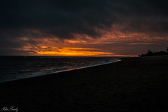Sunset (mfernandez.1992) Tags: sunset sky nubes clouds cloud atardecer nikon d3200 1855mm 1855 presets lightroom labalconada la balconada playa beach playalabalconada paloma uruguay rocha