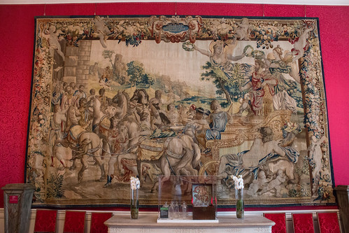 Salon de compagnie, Château de Chambord