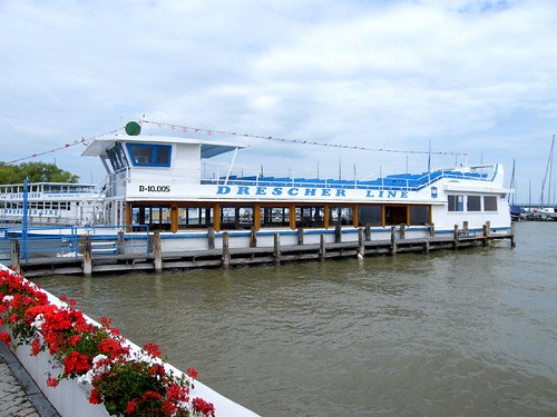 Fertőmeggyes, Kikötő