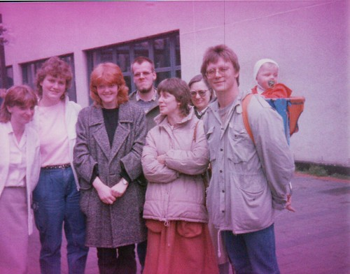 Delyn Menden Youth Exchange 1983