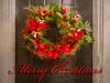 Merry Christmas! (Wes Iversen) Tags: christmas christmaswreath merrychristmas happyholidays seasonsgreetings michigan doors doorways christmasgreetings grandblanc painterly hss sliderssunday