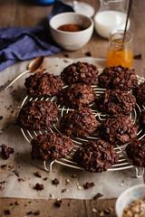 IMG_8981_exp (Helena / Rico sin Azúcar) Tags: chocolate cookie galleta muesli butter mantequilla vanilla vainilla bran oats cereales cacao cocoa dessert food comida postre