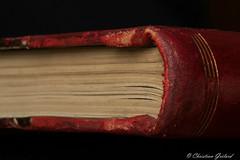 Old book corner (christian.grelard) Tags: macromondays corner old collection book vintage macro sigma sigma105mm