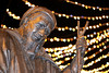 Geoffrey Chaucer bronze sculpture, Canterbury (that Geoff...) Tags: geoffreychaucer canterbury kent tales statue sculpture bronze outdoor highstreet bokeh canon 70d cathedral city uk gb unitedkingdom greatbritain samholland lynneodowd christmas xmas lights festive explored