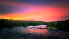 Jimmy Westerberg Photography (jimmy.westerberg) Tags: serene morning clouds summer sunrise waterscape water landscape summertime sunshine canon colours shining color colors explore exploring roadtrip saturated saturation 2016 skies sweden north sun