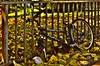 Stalker wird ausgeschlachtet - Stalker is being scrapped - HFF! (cammino5) Tags: frankfurt sachsenhausen hff august 2015 fahrrad hessen deutschland explored