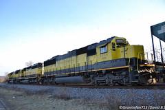 NYSW 3800 EMD SD60 (Trucks, Buses, & Trains by granitefan713) Tags: train freighttrain locomotive class2 nysw susquehanna newyork western railroad railfan emd electromotive sd emdsd60 sd60 standardcab