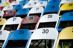 Take a seat (Christian Reteaca) Tags: usa worldtrip beach police car