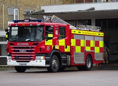 Bedfordshire Fire And Rescue Service (999 Response) Tags: bedfordshire fire and rescue service luton 48 fj16fsp