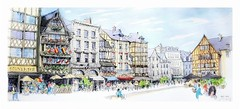Rouen - Normandie - France (guymoll) Tags: croquis sketch aquarelle watercolour watercolor colombage rouen normandie france