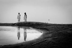 (Extin©ted DiPu) Tags: canon kit 1855 lifestyle lifestyleofbangladesghipeople lifescape childhood children sea lake water outdoor sky monochrome blackwhite bangladesh scout explore flickr