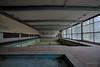 Hotel Atlantis (Raymond van der Zalm) Tags: hotel swimming pool urban abandoned urbex exploration salmon creations left behind no water empty