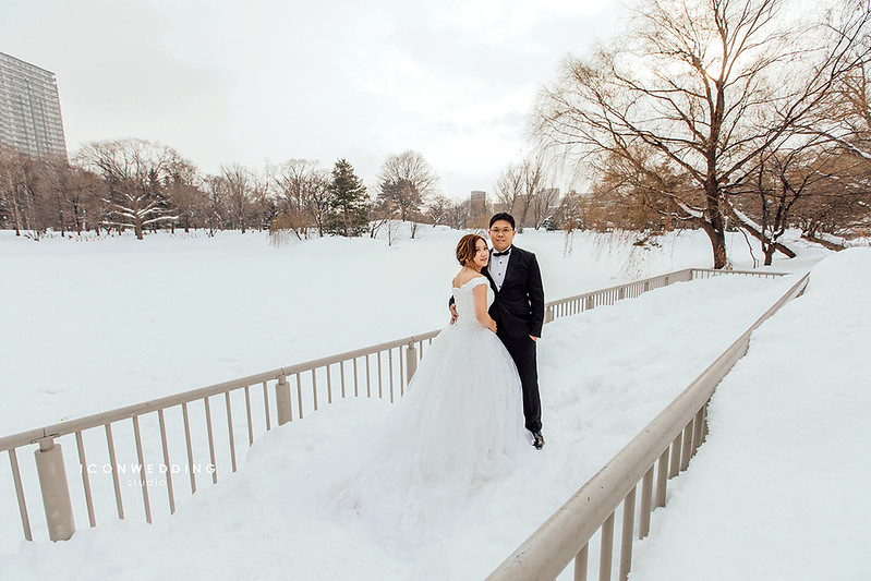 稻和神社,小樽運河,札幌電視塔,海外婚紗,北海道婚紗