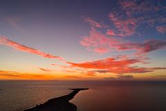 Sunset at Woodman Point (James A Collins) Tags: aerialphotography drone ocean dji djiphantom4pro sunset beach woodmanpoint westernaustralia coogee australia au