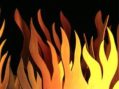 Flames (XoMEoX) Tags: flames flammen feuer fire d5200 nikon yellow gelb brennen burning detail abstract zungen hölle hell hellfire höllenfeuer brand artificial künstlich heis hot