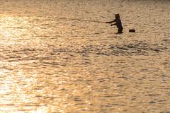 Fisherman during sunset at Senggigi Beach (Tim&Elisa) Tags: lombok indonesia asia canon senggigi beach sunset sun