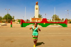 "Independence square in Ouagadougou. Burkina Faso  Jan 2017 #itravelanddance • <a style=""font-size:0.8em;"" href=""http://www.flickr.com/photos/147943715@N05/32434266122/"" target=""_blank"">View on Flickr</a>"