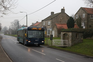 Arriva North East 4650 NK05GXD at Skeeby