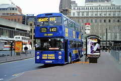 Stagecoach Manchester 4660 (A660 HNB) (SelmerOrSelnec) Tags: stagecoachmanchester magicbus leyland atlantean northerncounties a660hnb manchester piccadillybusstation gmt bus