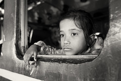 Bangladesh, girl in a train (Dietmar Temps) Tags: asia bangladesch bangladesh younggirl bengali culture ethnic ethnie ethnology girl kushtia naturallight outdoor people portrait southasia streetphotography tradition traditional train window