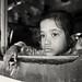 Bangladesh, girl in a train