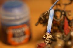 Glazed Sword (Alex Photographs) Tags: macromondays warhammer40000 glaze greyknights