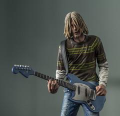 My Kurt Cobain figure (Emir Cykman) Tags: kurtcobain figure figura muñeco nirvana retrato portrait nikon nikond5200 50mm 50mmlens photography photographie fotografía american fender