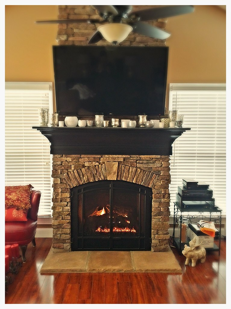 Mendota DXV-45 Direct Vent Fireplace. Ooltewah, Tn.