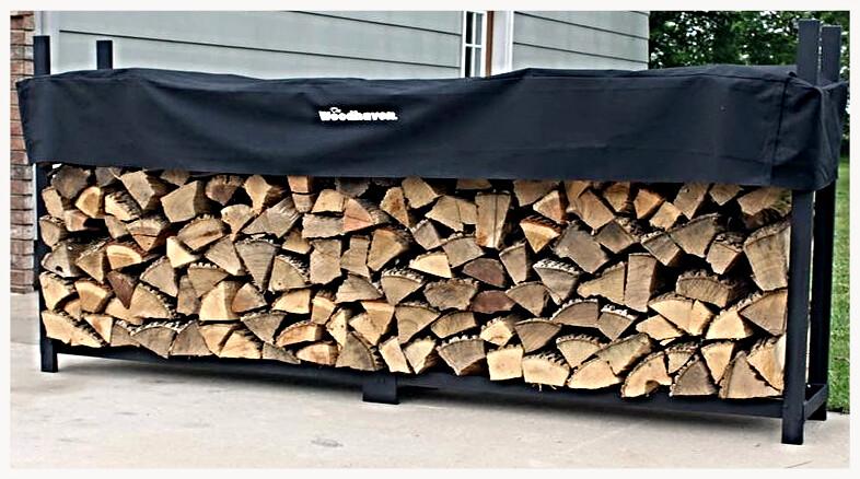 wood haven 10' ½ Cord Rack