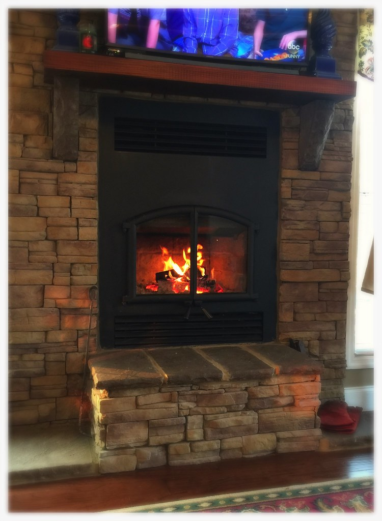RSF Opel 2 EPA Certified Wood Burning Fireplace. Old Fort, Tn.