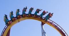 Silver Bullet (Dtek1701) Tags: outside fuji outdoor amusementpark rides rollercoaster southerncalifornia orangecounty buenapark attractions knottsberryfarm xseries apsc xt1 mirrorless xshooter xmount xtranssensor 18135oiswr