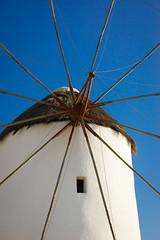 Kato Mili (Emm Ess) Tags: windmill sony bluesky greece alpha mykonos a55 katomili slta55v