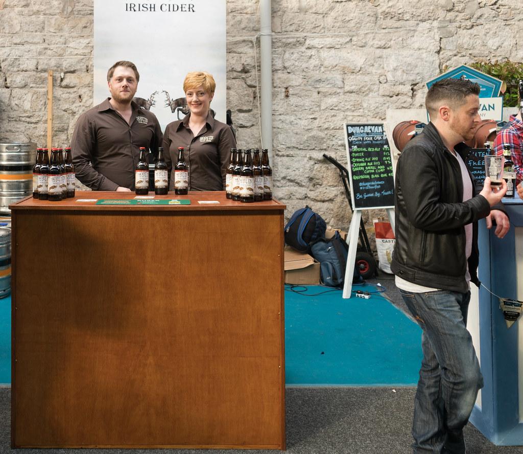 IRISH CRAFT BEER FESTIVAL IN THE RDS LAST WEEKEND IN AUGUST 2015 [SCOTT'S IRISH CIDER] REF-107273