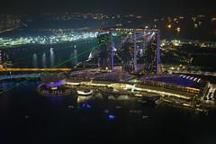 """Die Lichtershow des MBS von der Rooftop Bar """"1 Altitude"""" (Christian Jena) Tags: rooftop bar von der lightshow ausblick mbs 1altitude"""