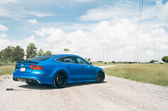 Audi RS7 ADV5.0 M.V2 CS Series (ADV1WHEELS) Tags: street blue wheels deep rims luxury spec forged concave stance 2piece oem glossblack 3piece 1piece adv1 prestigeimports forgedwheels deepconcave advone advancedone 21x105