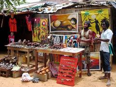 Souvenir Vendors (D-Stanley) Tags: africa village souvenir togo vendors kpalime kloto koumakonda missahohe