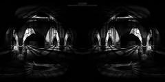 Catacombs (...She) Tags: she blackandwhite bw abandoned church monochrome mood moody darkness decay urbandecay atmosphere eerie spooky forgotten urbanexploration forsaken catacombs derelict deserted emptiness ue urbex abandonedchurch darknessandlight sheenaduckworthphotography