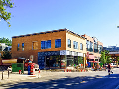 J. Crew and SoulCycle construction. October 6, 2015 (southportcorridorchicago) Tags: city urban chicago retail shopping corridor neighborhood cubs wrigley lakeview southport wrigleyville southportcorridor