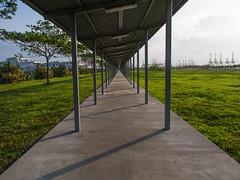 To Infinity & Beyond (henrytjm87) Tags: vanishingpoint walkway omd 1240mm marinasouthpier henrytjm