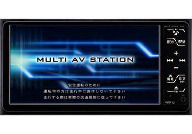 トヨタ純正用品ナビゲーションシステム NHZT-W58G/ NHZT-W58の写真