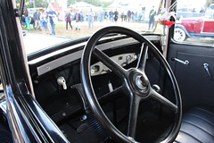 1929 Dodge, dashboard ands steering wheel (Davydutchy) Tags: auto classic car automobile hobby voiture bil vehicle oldtimer klassiker vetern automobiel